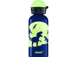 SIGG Trinkflasche Glow Moon Dinos 0 4 l