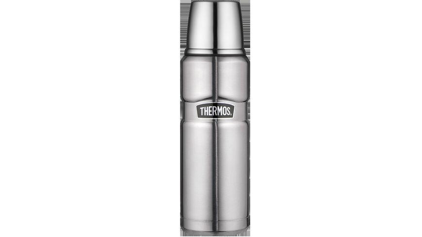 THERMOS Isolierflasche Edelstahl mattiert 0 47 l