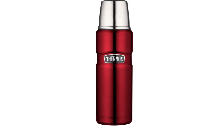 THERMOS Isolierflasche Edelstahl Cranberry 0 47 l