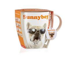 RITZENHOFF BREKER Kaffeebecher mit Schluesselanhaenger Sonnenbrille