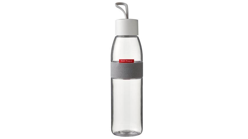 Rosti Mepal Trinkflasche Ellipse Weiss