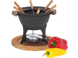 kela Fondue Set Country 11 tlg