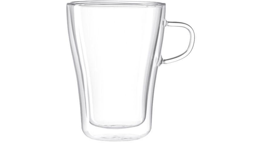 LEONARDO Doppelwandige Tasse Duo 350 ml