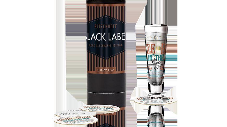 RITZENHOFF Schnapsglas mit Deckel Black Label 0 4 cl