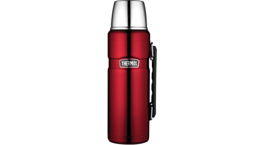 THERMOS Isolierflasche Edelstahl Cranberry 1 2 l