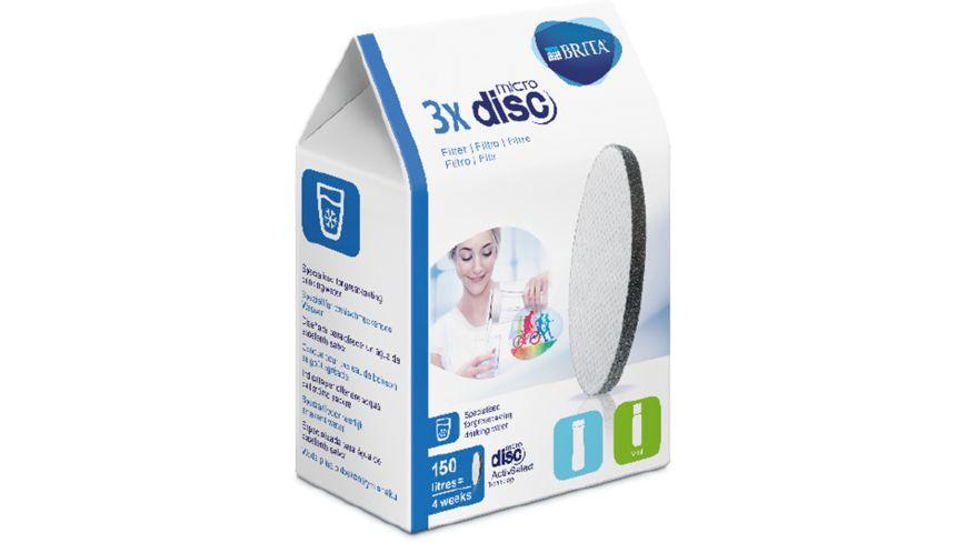 BRITA MicroDisc Filter 3er Nachfuellpack