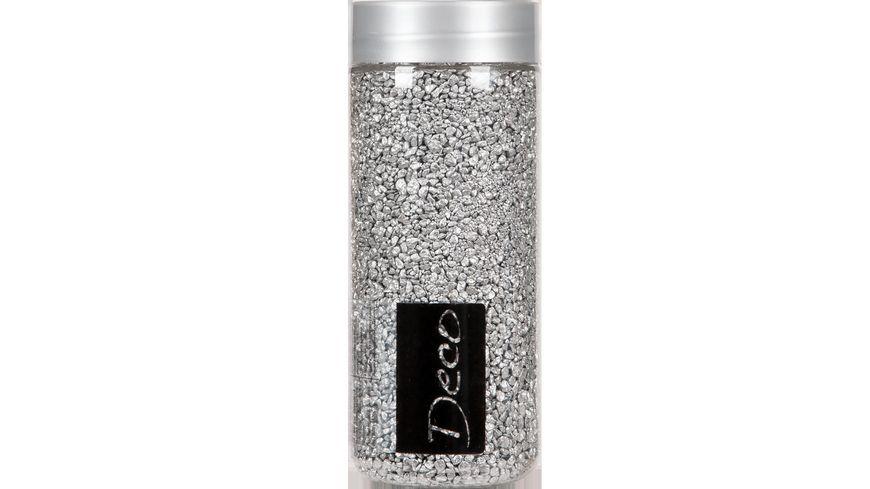 EUROSAND Deko Granulat silber 500 ml