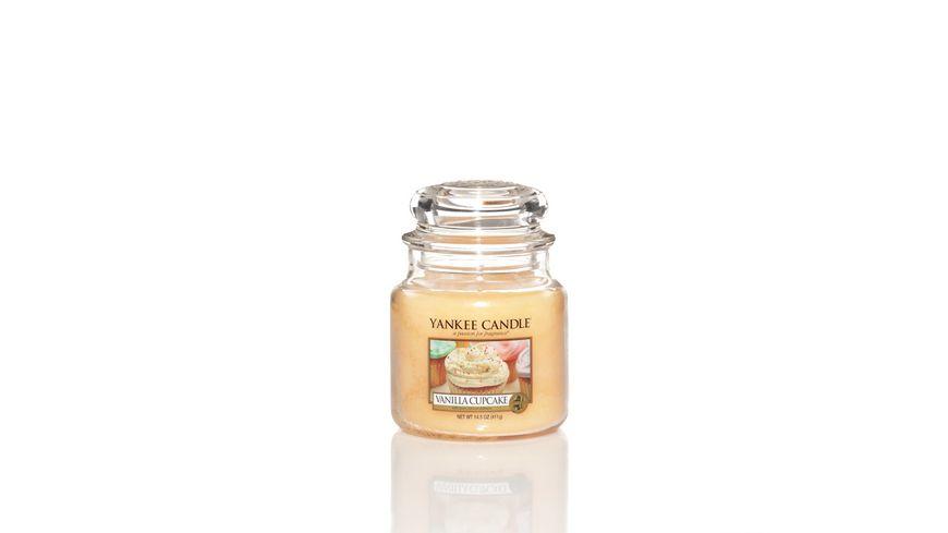 YANKEE CANDLE Mittlere Duftkerze im Glas Vanilla Cupcake