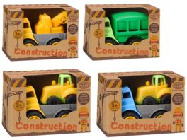 Mueller Toy Place CONSTRUCTION CARS KLEIN SORTIERT 4 FACH