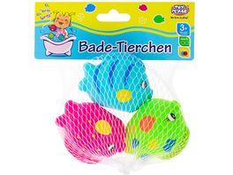 Mueller Toy Place Bade Tierchen 3 Sueck im Set sortiert