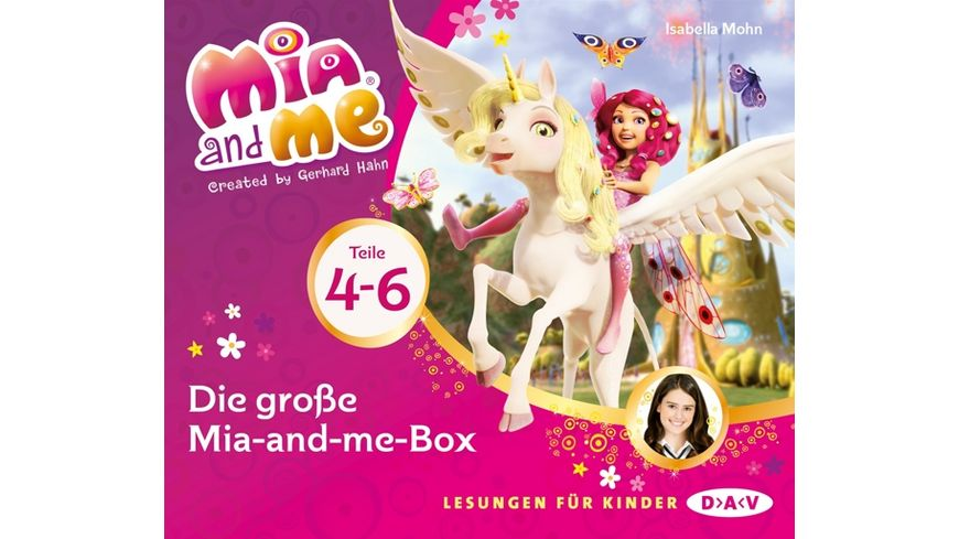 Die grosse Mia and me Box Teile 4 6