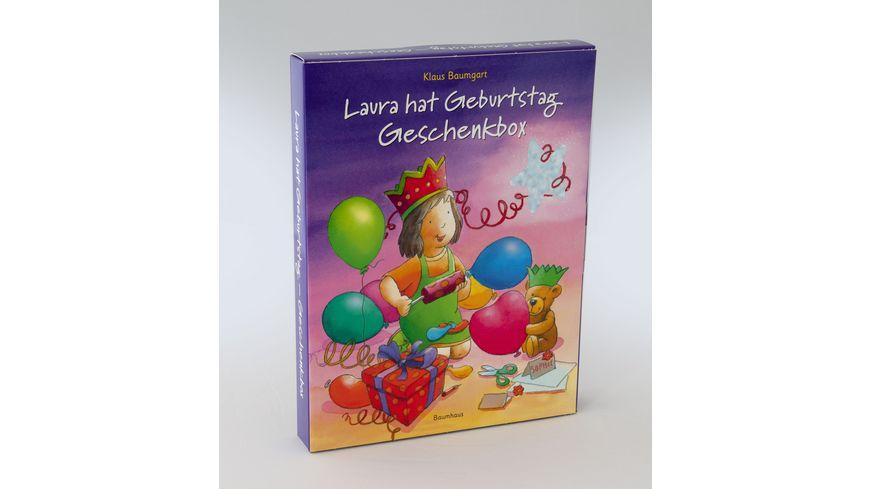 Laura hat Geburtstag Geschenkbox