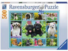 Ravensburger Puzzle Putzige Huendchen 500 Teile