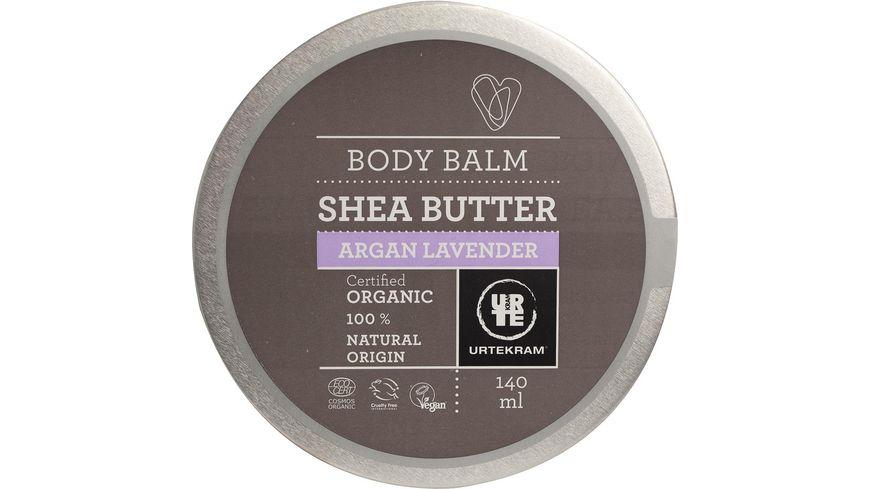URTEKRAM Shea Butter Body Balm Lavendel