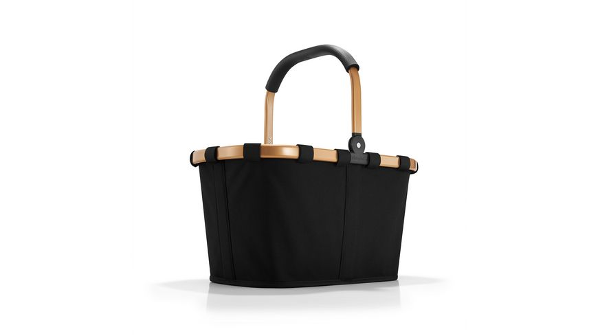 reisenthel carrybag frame gold black