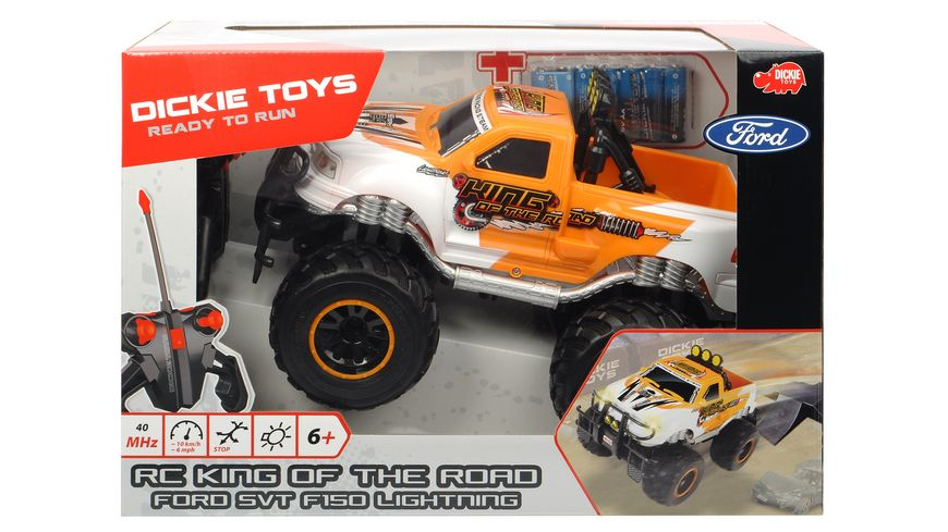 Dickie RC Ford F150 Lightning SVT King of the Road RTR