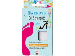 BARFUSS Schuhpads mit unsichtbarem Gel Polster