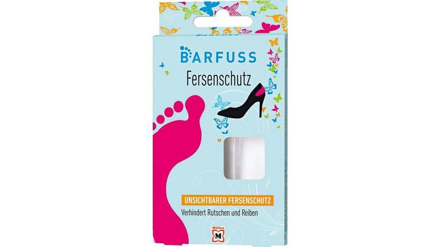 BARFUSS Fersenschutz unsichtbar
