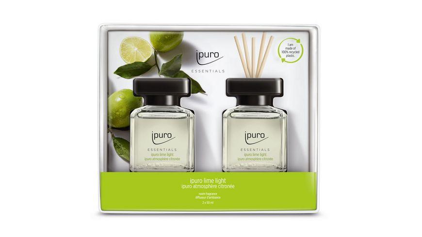 ipuro Raumduft Essential Lime Light Geschenkset