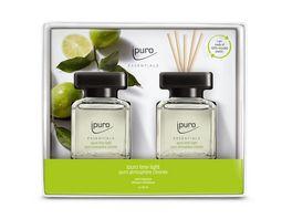 ipuro Raumduft Essentials Lime Light Geschenkset