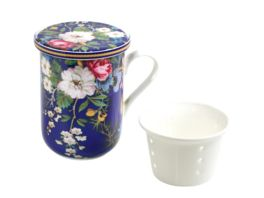 MAXWELL WILLIAMS Becher mit Deckel Kilburn Floral Muse