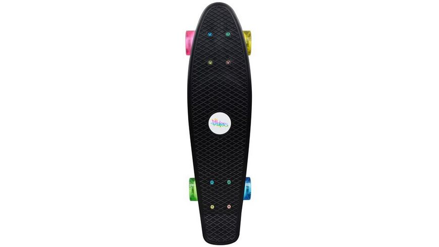 Authentic NoRules Skateboard fun Neon