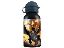 p os Handel Trinkflasche aus Aluminum Dragons Design 2016