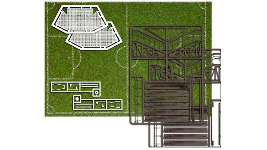 Busch 1052 Modellbahnzubehoer Fussballplatz H0