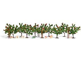Busch 6620 Modellbahnzubehoer Apfelplantage H0