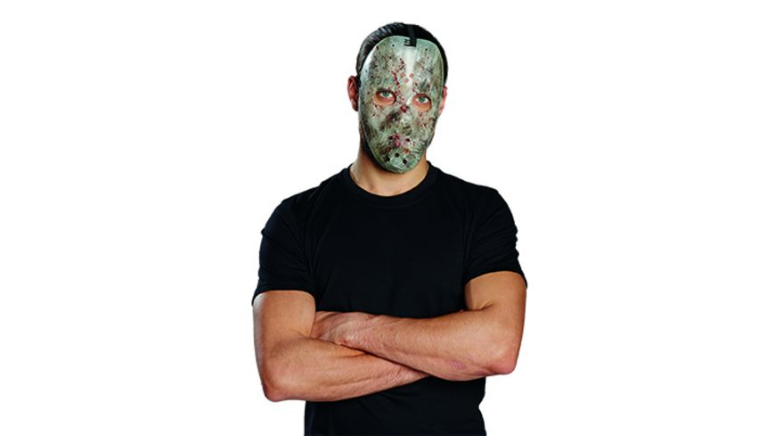 Rubies Hockey Maske nachtleuchtend