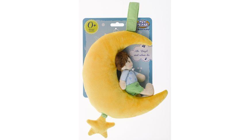 Mueller Toy Place Spieluhr Mond mit Engel Junge sortiert