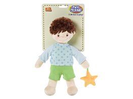 Mueller Toy Place Spielpuppe Junge mit Stern 29 cm