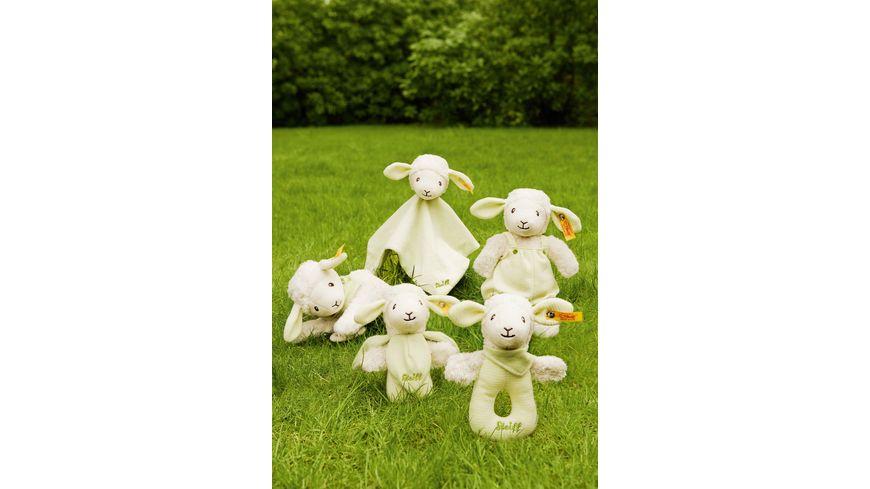 Steiff Babywelt Spielzeug Schmusetuecher Lenny Lamm Schmusetuch gruen 26cm