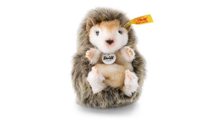 Steiff - Joggi Babyigel 10 braun meliert