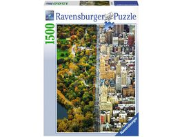 Ravensburger Puzzle Geteilte Stadt 1500 Teile