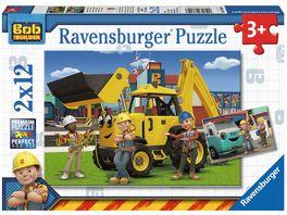 Ravensburger Puzzle Bob und sein Team 2x12 Teile