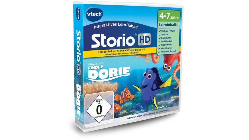 VTech Storio MAX und Storio TV Lernspiel Findet Dorie HD