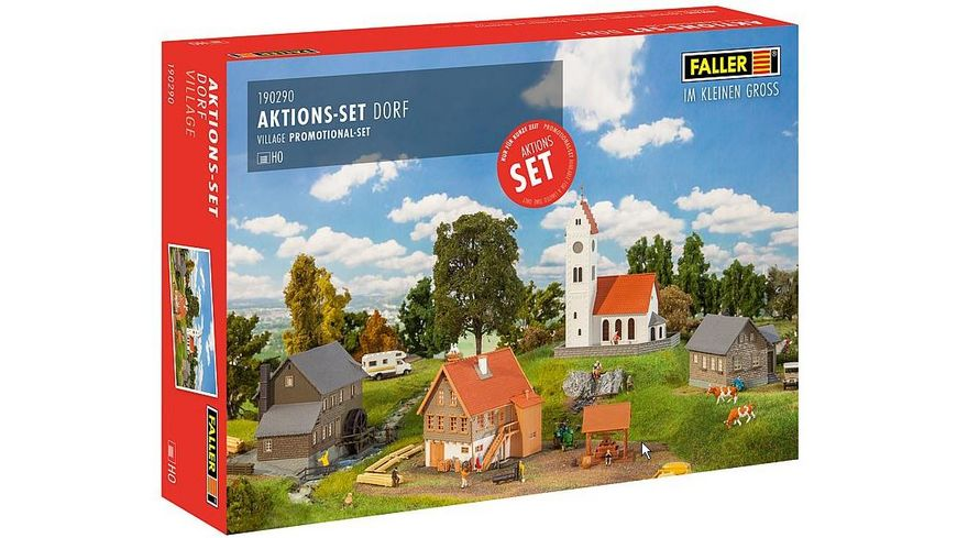 Faller 190290 H0 Aktions Set Dorf