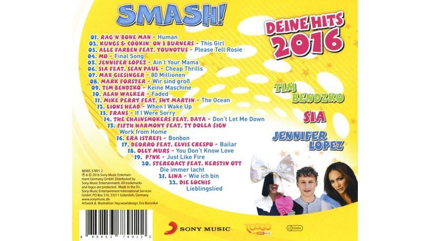 Smash Deine Hits 2016