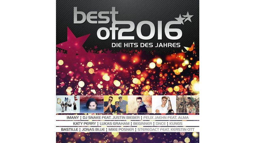 Best Of 2016 Die Hits Des Jahres
