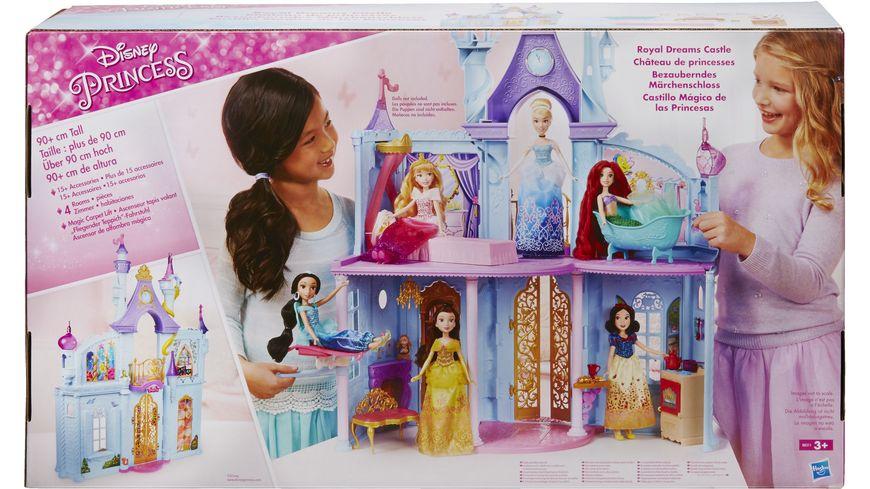 Hasbro Disney Prinzessin Bezauberndes Maerchenschloss