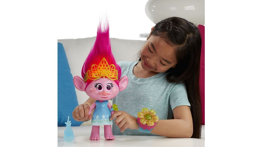 Hasbro Trolls Kuschelzeit Poppy