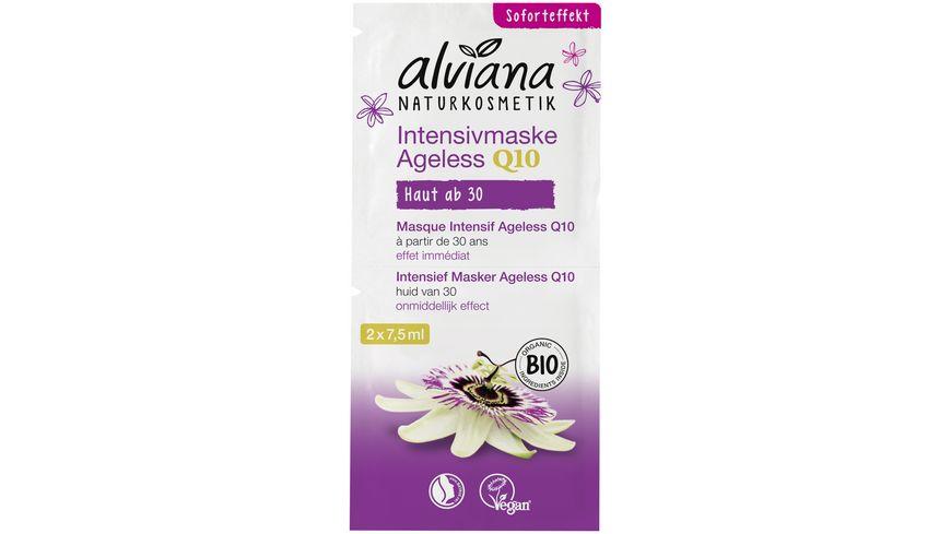 alviana Intensivmaske Anti Aging Q10
