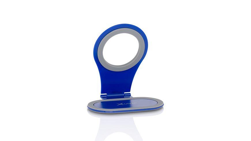 Xlayer Halterung Colour Line Steckdosenhalterung Blue