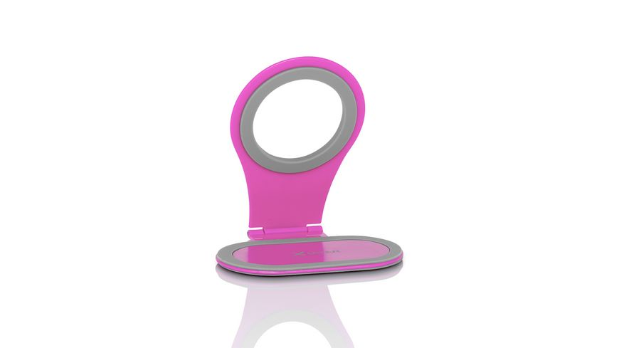 Xlayer Halterung Colour Line Steckdosenhalterung Pink