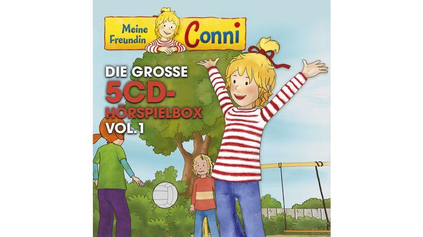 Conni TV Die Grosse 5 CD Hoerspielbox Vol 1