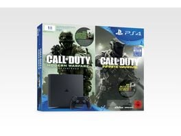 PS4 Konsole Slim 1 TB Mit Call Of Duty Early Access