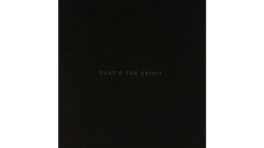 That s The Spirit