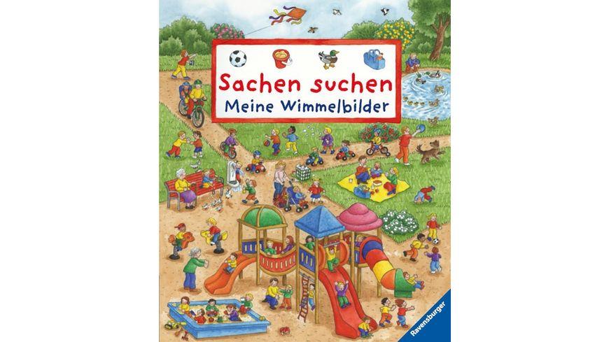 Ravensburger BilderSachen suchen Meine Wimmelbilder