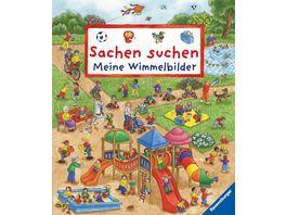 Ravensburger Buch Bilderbuch Sachen suchen Meine Wimmelbilder